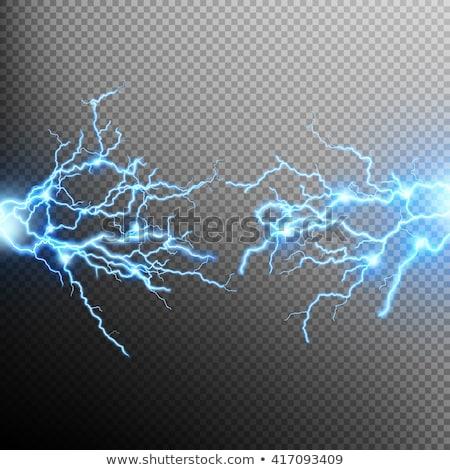 Electric lighting effect. EPS 10 stock photo © beholdereye