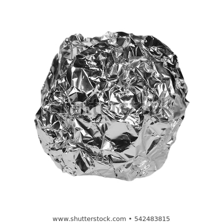 Aluminum foil ball Stock photo © Digifoodstock