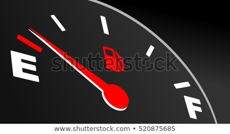 gas gage illuminated full stock photo © albund