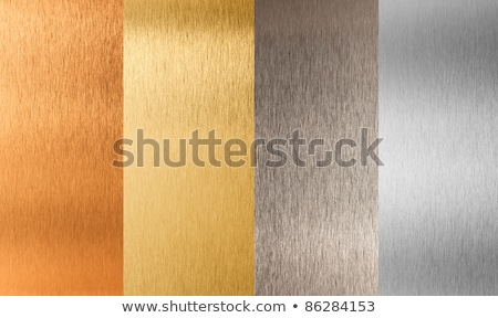 Aluminum and brass stitched textures Stock photo © kayros