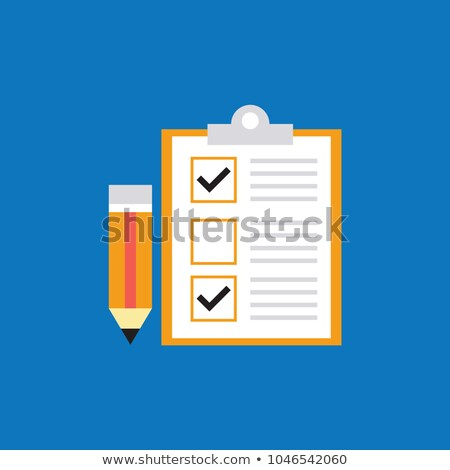 clipboard with client requirements stock photo © tashatuvango