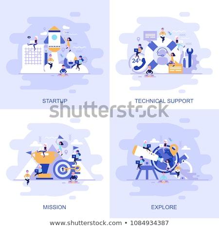 Idea. Create Concept. Stock photo © tashatuvango