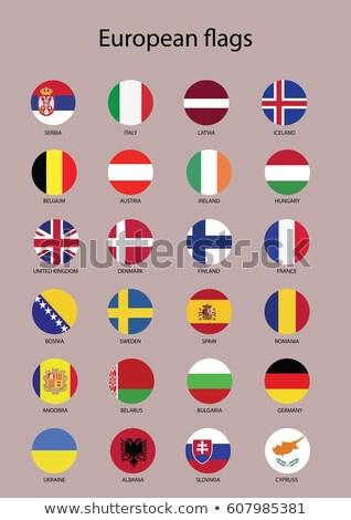 Grécia bandeira mapa globo ilustração 3d grego Foto stock © Harlekino