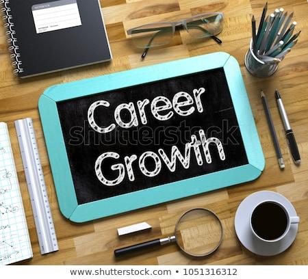 career concept on small chalkboard 3d stock photo © tashatuvango