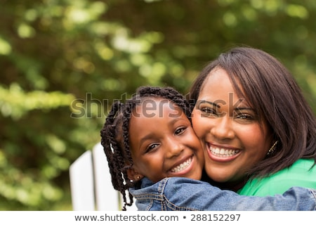 пару · детей · родителей · улице · два · молодые - Сток-фото © is2