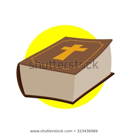 vektör · altın · İsa · siyah · uzay · boyama - stok fotoğraf © popaukropa