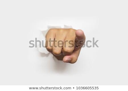 erkek · yürütme · işaret · müşteri · hizmetleri · ajan · kamera - stok fotoğraf © hsfelix