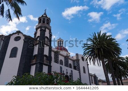 LA Tenerife falu utca öreg történelmi Stock fotó © neirfy
