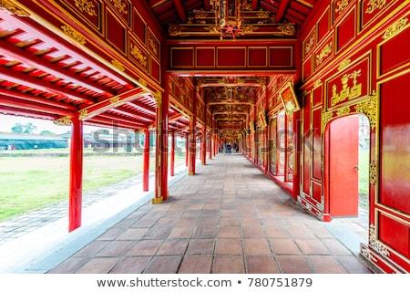Hue, Vietnam. Imperial Forbidden city complex Stock photo © romitasromala