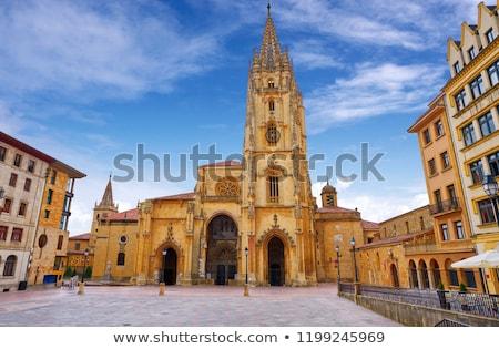 исторический · центр · Испания · мнение · собора · город - Сток-фото © lunamarina
