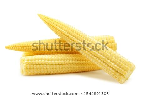 bebek · mısır · yemek · sebze · sarı - stok fotoğraf © ungpaoman