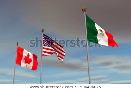 États-Unis Mexique Canada accord nouvelle symbole Photo stock © Lightsource