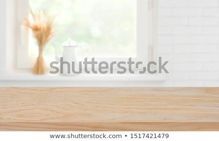 Cozinhar comida cozinha utensílios pino do rolo Foto stock © Illia