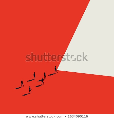 Business ambition concept vector illustration. Stock photo © RAStudio