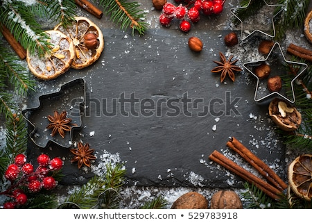 christmas food background stock photo © unikpix