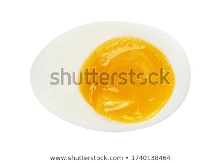 üst görmek tavuk yumurta Stok fotoğraf © maxsol7