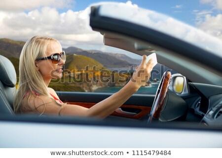 sürücü · araba · fotoğraf · sürücü - stok fotoğraf © dolgachov