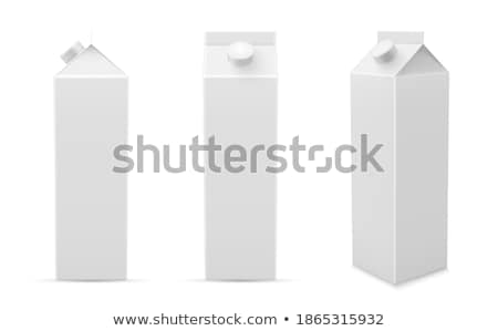Yoghurt in Paper Package Isolated Vector Icon Stock photo © robuart
