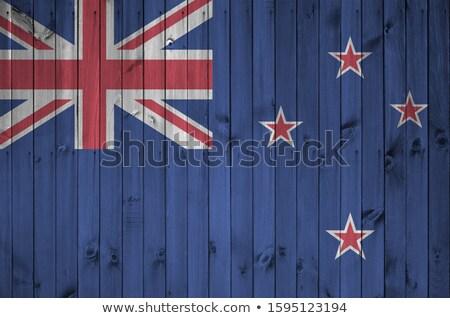 Новая Зеландия флаг иллюстрация дизайна фон Сток-фото © colematt
