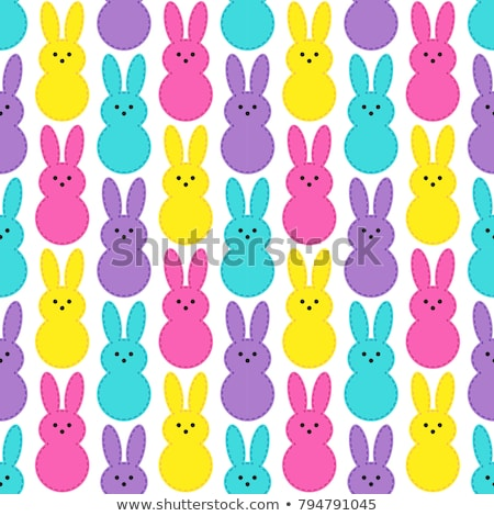 Happy Easter Seamless Pattern Stock photo © Anna_leni