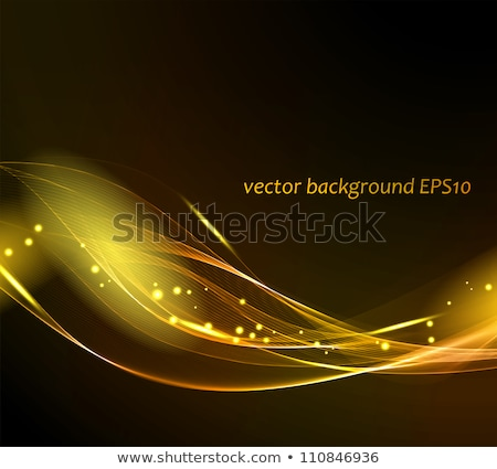 Creative glow effect concept on black background. Vector abstract form Stock photo © designleo