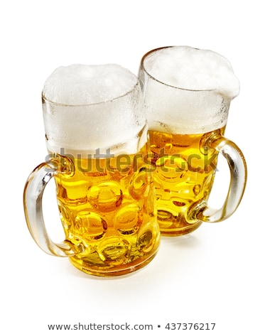 Beer Stein German Oktoberfest Pint Tankard Mugs Stock photo © Krisdog