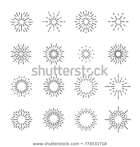 Firecracker And Festive Firework Light Set Vector Stock photo © pikepicture