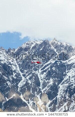 Helicóptero região Geórgia ver alto latitude Foto stock © boggy