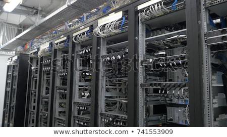 Cyfrowe waluta wydobycie kask działalności Internetu Zdjęcia stock © butenkow