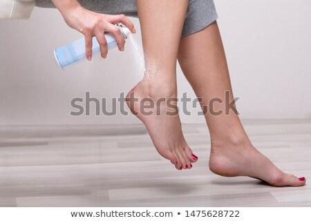 pie · enfermedad · humanos · cuerpo - foto stock © andreypopov