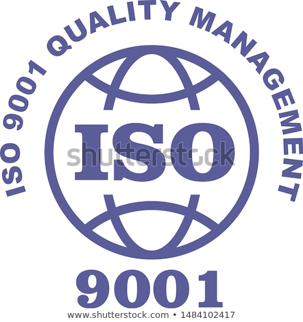ISO 9001 stamp sign - quality management systems, QMS standard Stock photo © Winner