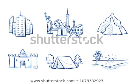Camping and Sea Beach, Voyage and Sightseeing Stock photo © robuart