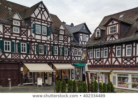 Historic houses in Braunfels, Germany Stock photo © borisb17