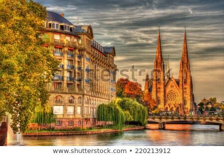 Igreja gótico renascimento arquitetura edifício um Foto stock © borisb17