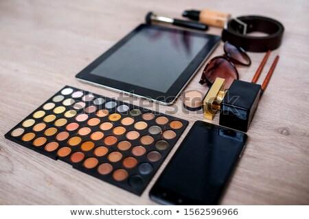 Szett kozmetikai kellékek ki forma rendszeres Stock fotó © ElenaBatkova