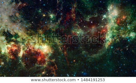 Night sky with lot of shiny stars, natural astro background. Element of this image furnished by NASA Stock photo © NASA_images