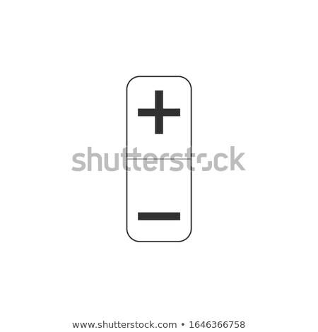 Plus and minus volume button. Stock Vector illustration isolated Stock photo © kyryloff