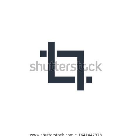 Gewas tool teken ontwerp kan Stockfoto © kyryloff