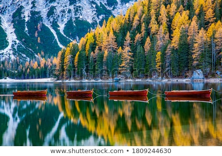 Meer turkoois water alpen zuiden Stockfoto © xbrchx