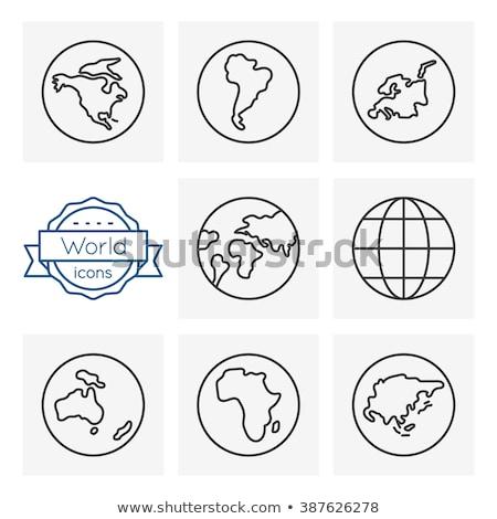 アメリカ webアイコン ユーザー インターフェース デザイン ストックフォト © ayaxmr