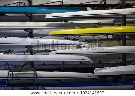 barco · casa · lado - foto stock © HJpix