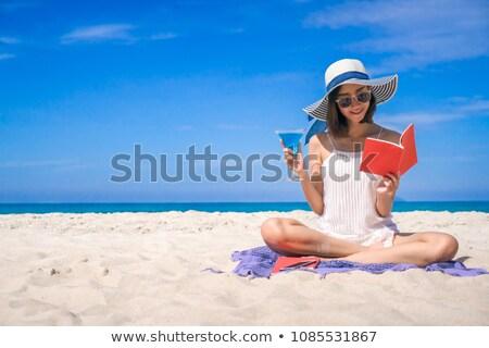 vacation girl stock photo © sahua