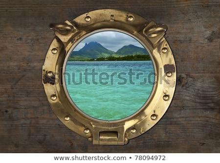 антикварная тропические мнение стены воды Сток-фото © premiere