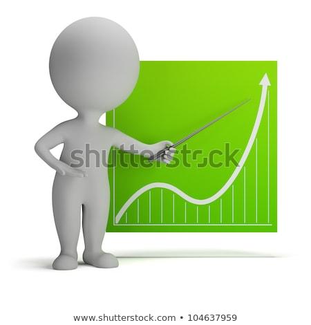 Stock fotó: D-s · kis · emberek · - · bejelentés
