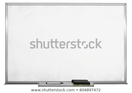 Mágneses jelző tábla fehér izolált iroda Stock fotó © romvo