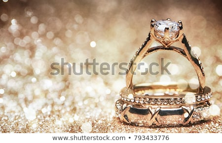 現代 · ダイヤモンドリング · リング · 緑 · ダイヤモンド - ストックフォト © magraphics