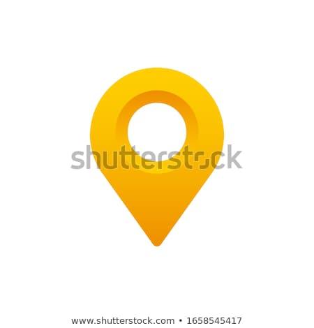 yellow pin stock photo © givaga