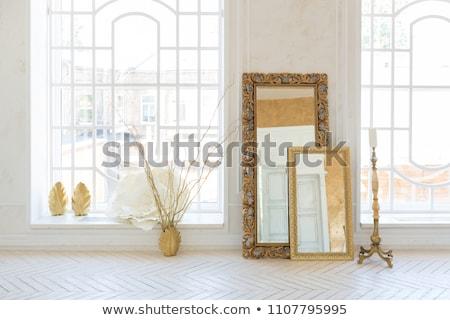 Drága belső virágmintás végtelenített grunge fából készült Stock fotó © IMaster