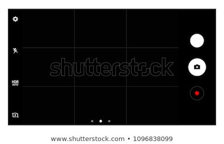 web camera on screen background stock photo © photocreo