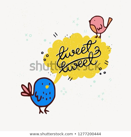 Tweety birds Stock photo © Artlover
